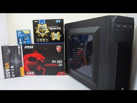 INTEL i5 4460 Gaming PC Build, Benchmark & GTA V, BF4, Far Cry 4 Game Play