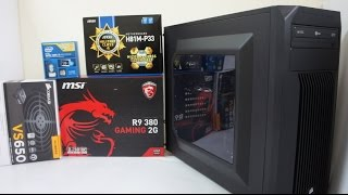 iNTEL i5 4460 Gaming PC Build, Benchmark & GTA V, BF4, Far Cry 4 Game Play