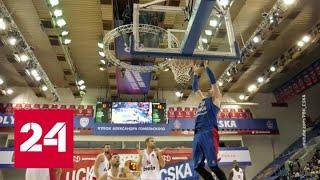 """Баскетбол. """"Химки"""" победили израильских """"Маккаби"""" в стартовом матче Евролиги - Россия 24"""