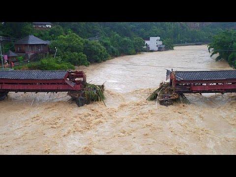 Mindestens 10 Tote nach Taifun «Meranti» in China