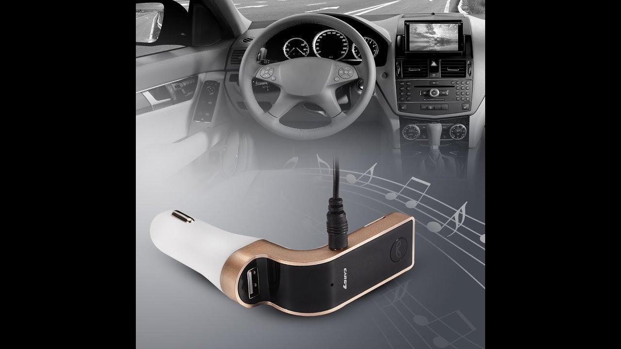 Car G7 Fm Transmitter