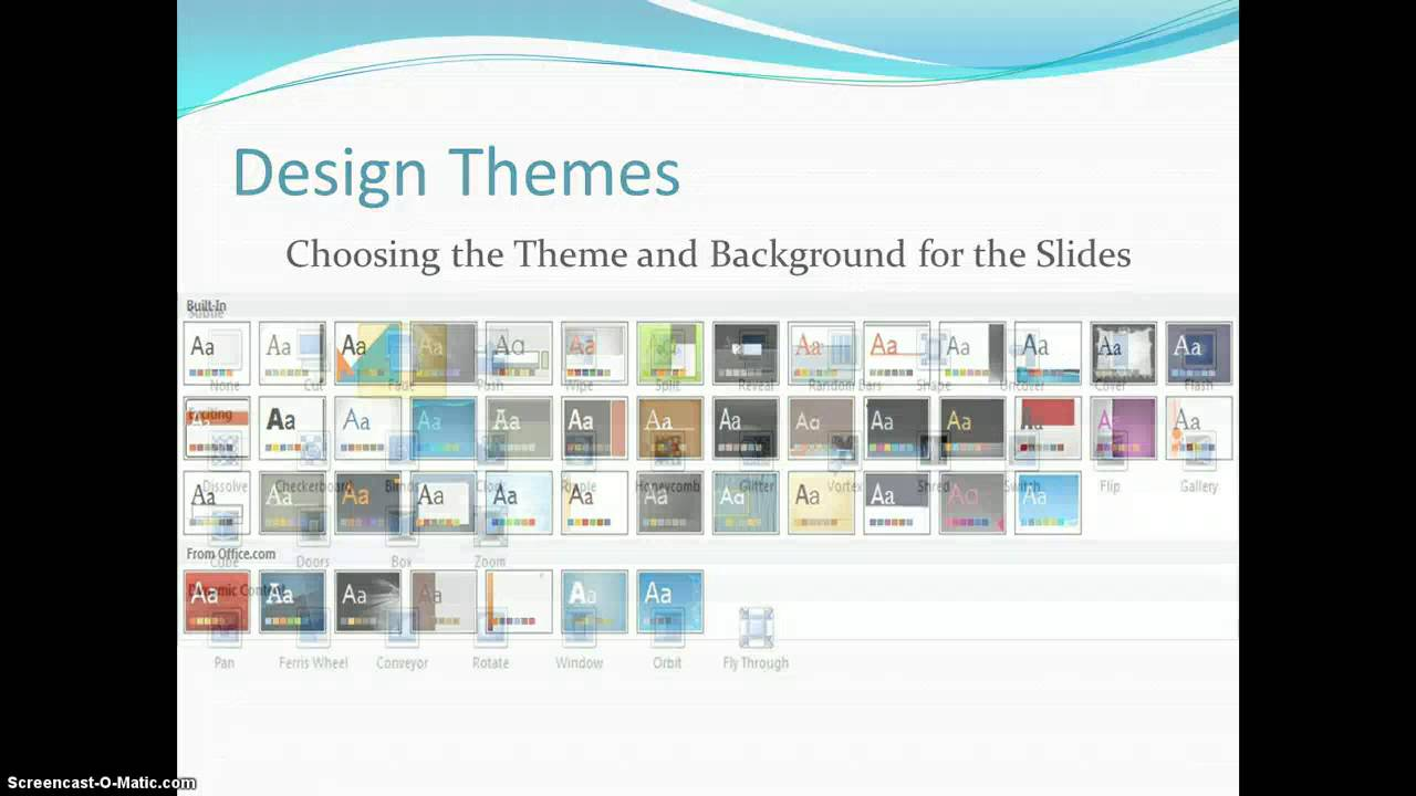 creating dynamic powerpoint presentations completed slide show youtube