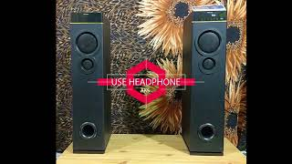 Philips SPA9080B Tower Speaker Sound Test by AKS