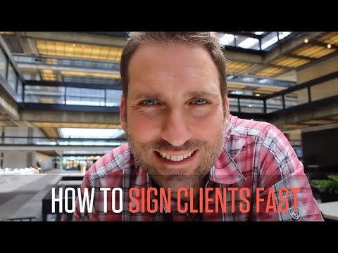 HOW TO SIGN AGENCY CLIENTS FASTER | LAND MORE AGENCY CLIENTS FASTER | POTENTIAL CLIENTS