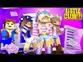 Minecraft: Little Leah Plays THE LITTLE CLUB GIRLS BEDROOMS GETS DESTROYED!!!!