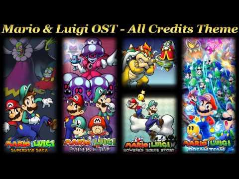 Mario & Luigi OST  All Credits Theme