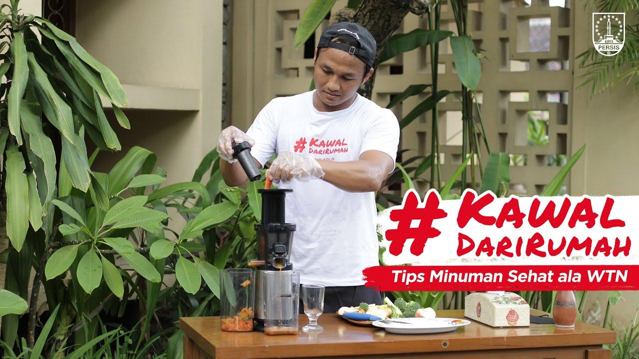 #KawalDariRumah | Tips Minuman Sehat ala Wahyu Tri Nugroho