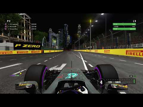 F1 2017 SINGAPORE TIME TRIAL LAP