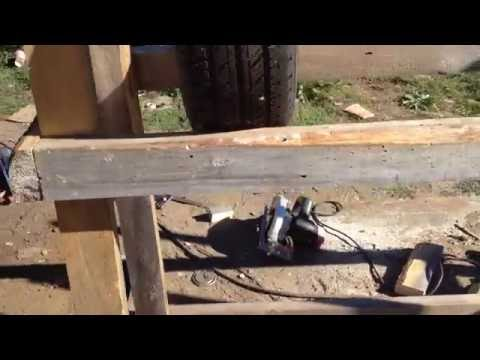 Building a Simple Tire Rack With 2x4s (part 2)