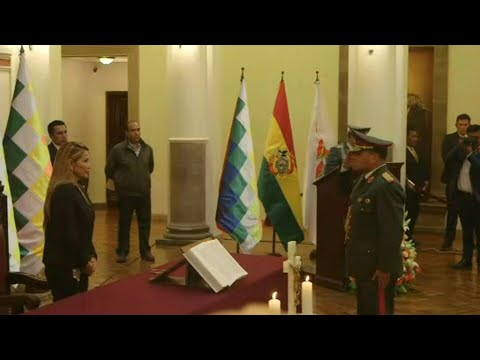AFP news agency: Bolivia acting leader names new military high command | AFP