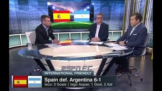 Download Video SPAIN VS ARGENTINA 6-1 [POST MATCH ANALYSIS] INTERNATIONAL FRIENDLY MP3 3GP MP4