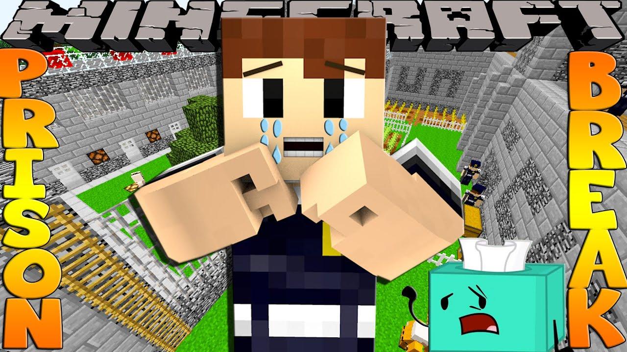 Minecraft PRISON BREAK - SHARKY & SCUBA STEVE FIGHT!!!