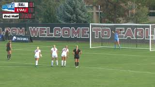 Sept. 8   EWU Soccer Match Highlights vs. Gonzaga