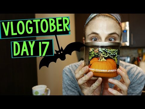 Vlogtober Day 17: DENTIST, DEWAXING CANDLE JARS & SKIN CARE|Dr Dray