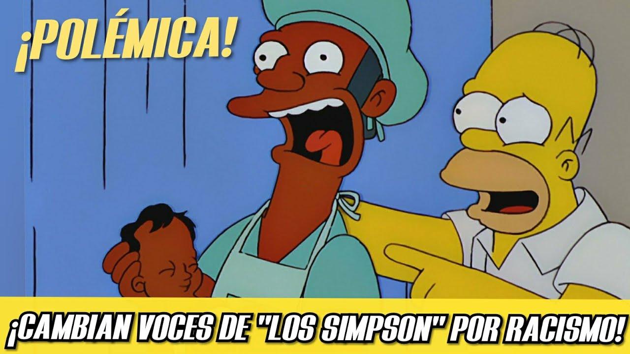 """💥 ¡POLÉMICA! ¡CAMBIAN VOCES DE """"LOS SIMPSON"""" DEBIDO AL RACISMO!    Cine a Fondo  """