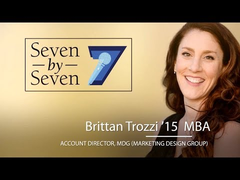 University of San Diego Presents Seven by Seven: Brittan Trozzi '15  MBA