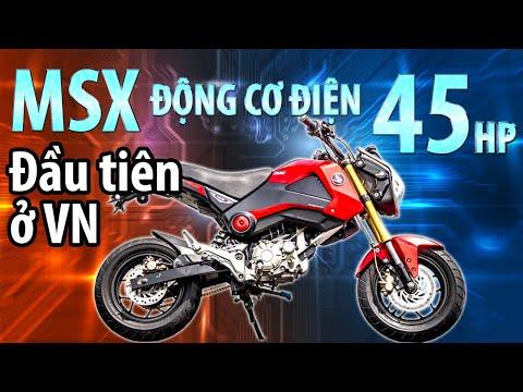 Siêu xe MSX 125 độ động cơ điện 48 Mã Lực mạnh hơn cả 1 chiếc PKL - Expresscenter độc quyền Review