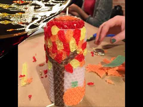 B.Witching Candle Rolling Class - Join us & get creative!