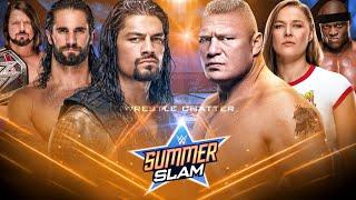 WWE Summerslam 2018 Results ! Title Changes ! Winners ! Summerslam 2018 Predictions