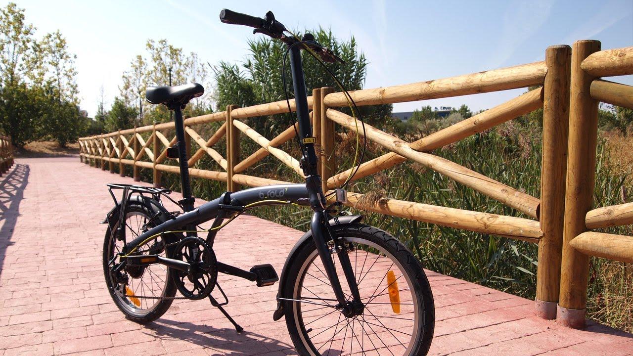 Bici Pieghevole Bfold 7.Btwin B Fold 7 Bfold 500