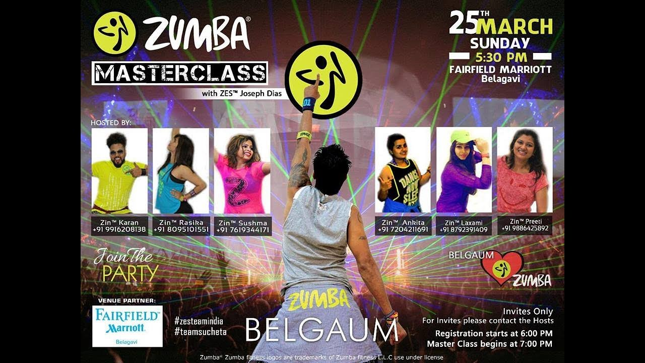 Zumba fitness party with zes joseph dias from goa and belagavi zumba fitness party with zes joseph dias from goa and belagavi zins fairfield marriott stopboris Image collections