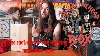 The Metalhead Box Opening: November 2019
