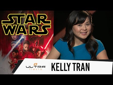 Star Wars The Last Jedi - Interview with Kelly Marie Tran who plays Rose
