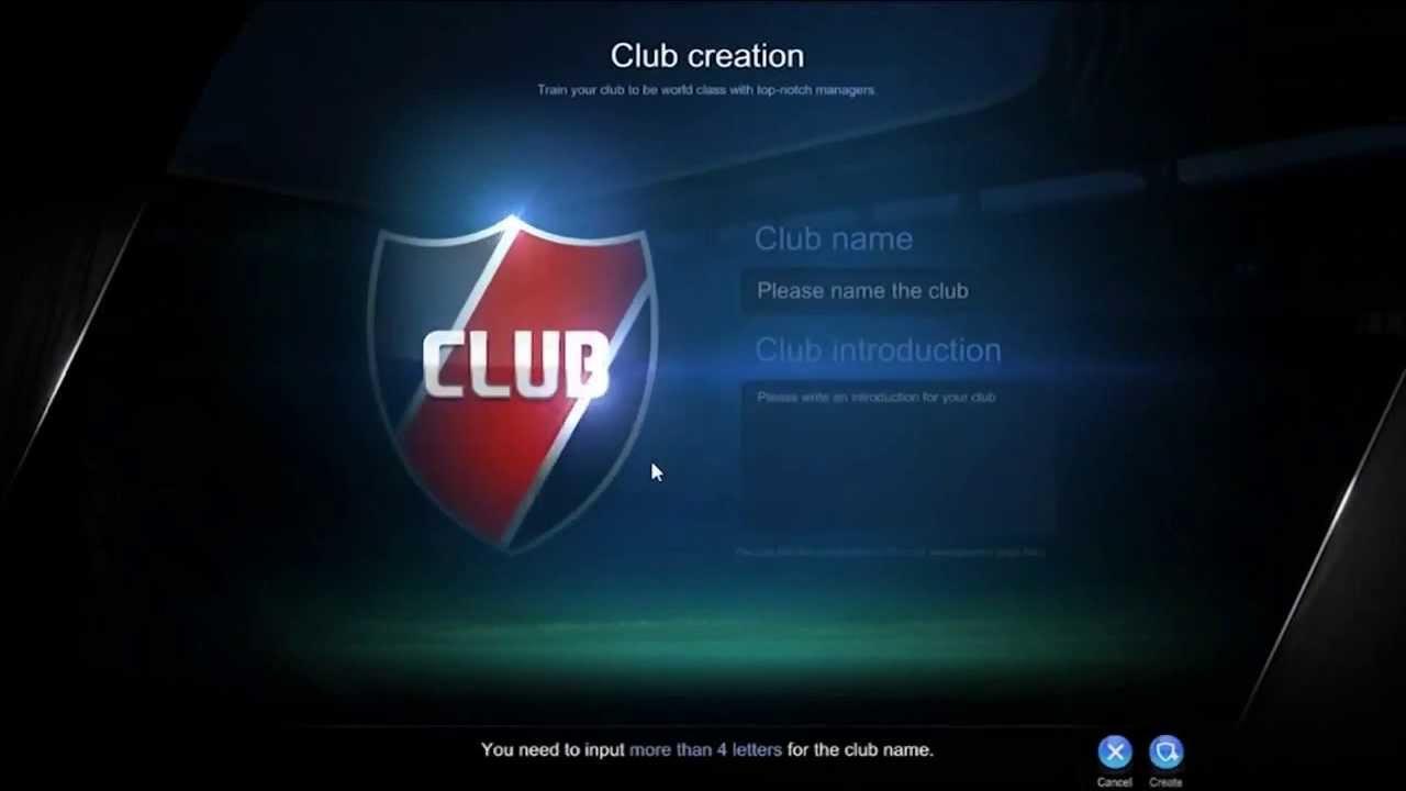 Fifa Online  Video Tutorial  Club System Id