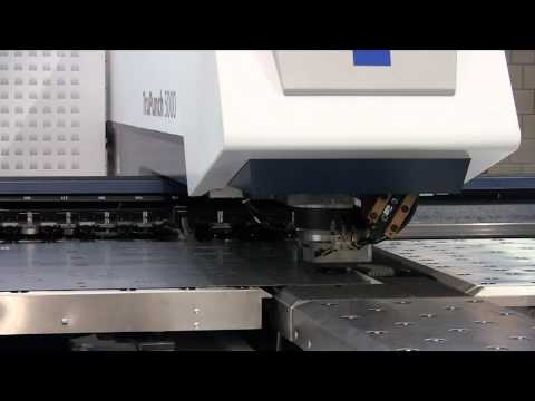 TruPunch 5000 with Sheet Master Demonstration by TRUMPF - Sterling FabTech