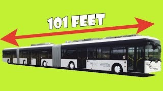 Top 5 Biggest Buses In The World 2017