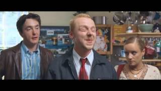 """Shaun of the Dead - """"Get fucked, four-eyes!"""""""