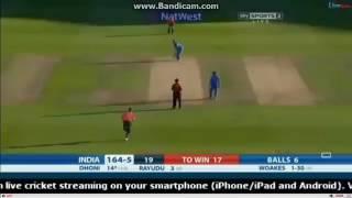 Ind vs eng /final over 2nd ODI 2017