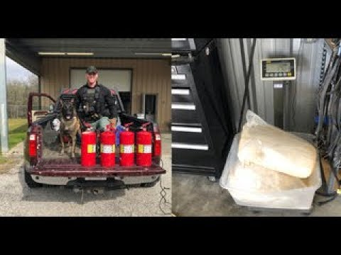 Fayette County's newest K-9 helps seize $3 5 million worth of meth   1/2019