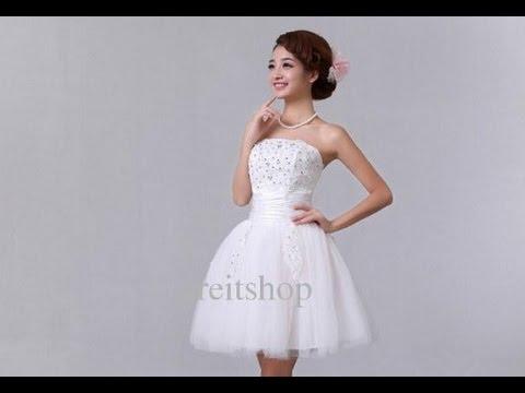 1300a014fae7 Wedding Dress Mini Skirt - YouTube