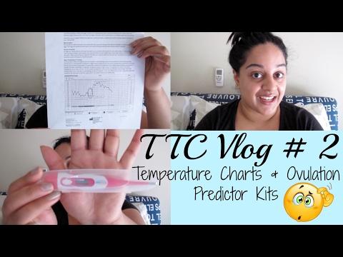 TTC VLOG #2  Body Temperature Charts & Ovulation Predictor Tests
