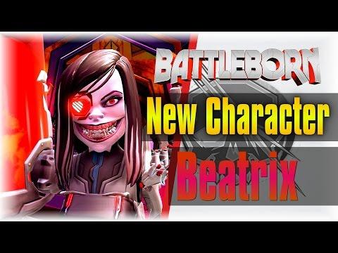 THE WINTER UPDATE!!!   Battleborn   Beatrix Gameplay [MELEE Support Build]