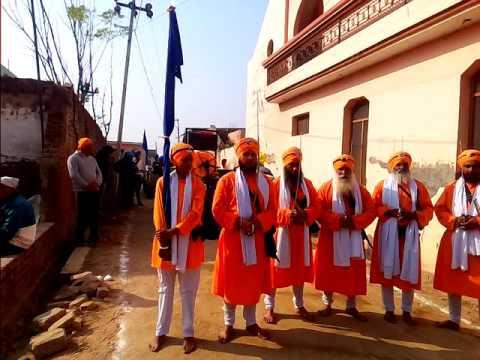 Dhan sri guru Gobind singh ji.. Nagar kirtan. Lakhpur