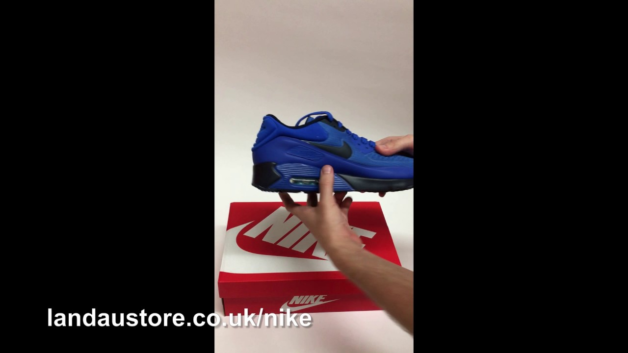 pretty nice 99e57 0cd96 Unboxing - Nike Air Max 90 Ultra SE Hyper Cobalt Dark Obsidian