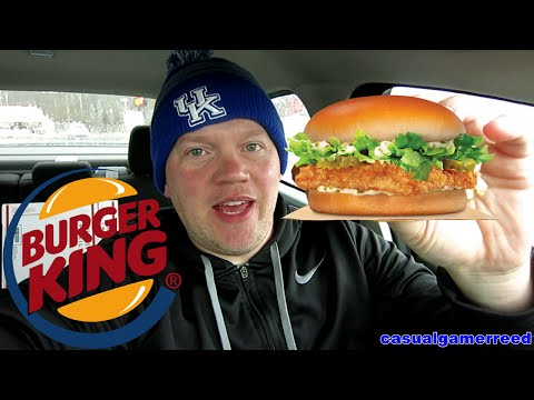 Reed Reviews Burger King Big Fish Sandwich