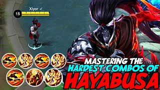 MASTERING THE HARDEST HAYABUSA COMBOS OF ALL TIME! | MOBILE LEGENDS
