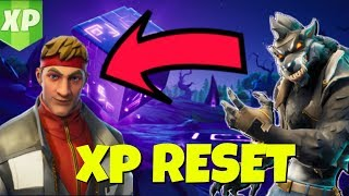 YOUR XP WILL RESET WHEN YOU UNLOCK THE DIRE SKIN IN FORTNITE SEASON 6