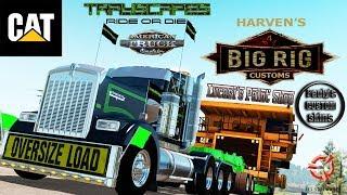 (HEAVY HAUL) Caterpillar 785C Mining Truck By Harven American Truck Simulator 1.30