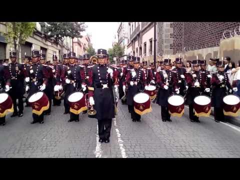 Banda de guerra del Colegio Militar