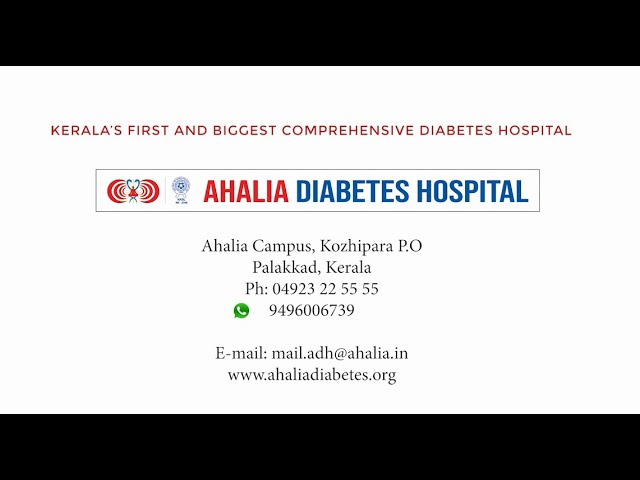 Things to Know: 5 Important Tips | Dr. Prem Narayanan | Ahalia Diabetes Hospital | Palakkad