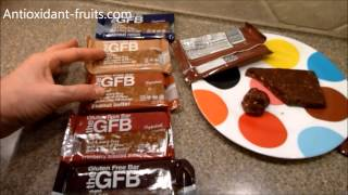 The Gluten Free Bar Gfb Chocolate Peanut Butter Protein Bar Review - Antioxidant Fruits
