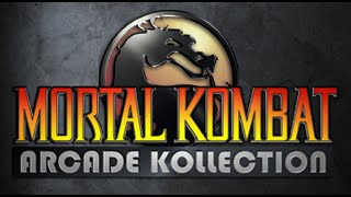 Mortal Kombat Arcade Kollection on PS3 Part (1 of 3)