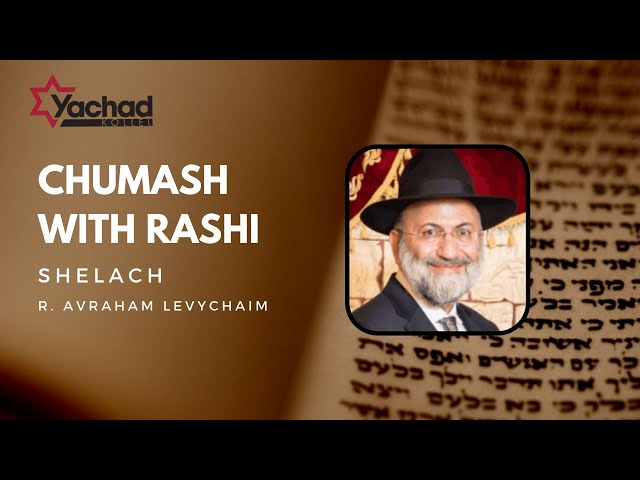 Chumash with Rashi - Shelach - R. Avraham Levychaim