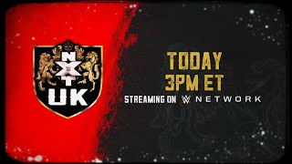 WWE NXT UK arrives on WWE Network today at 3 ET thumbnail