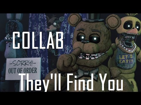 (fnaf sfm) They'll Find You [collab w/friends]