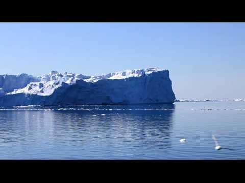 Icebergs in Greenland, Sailing between the Giants HD